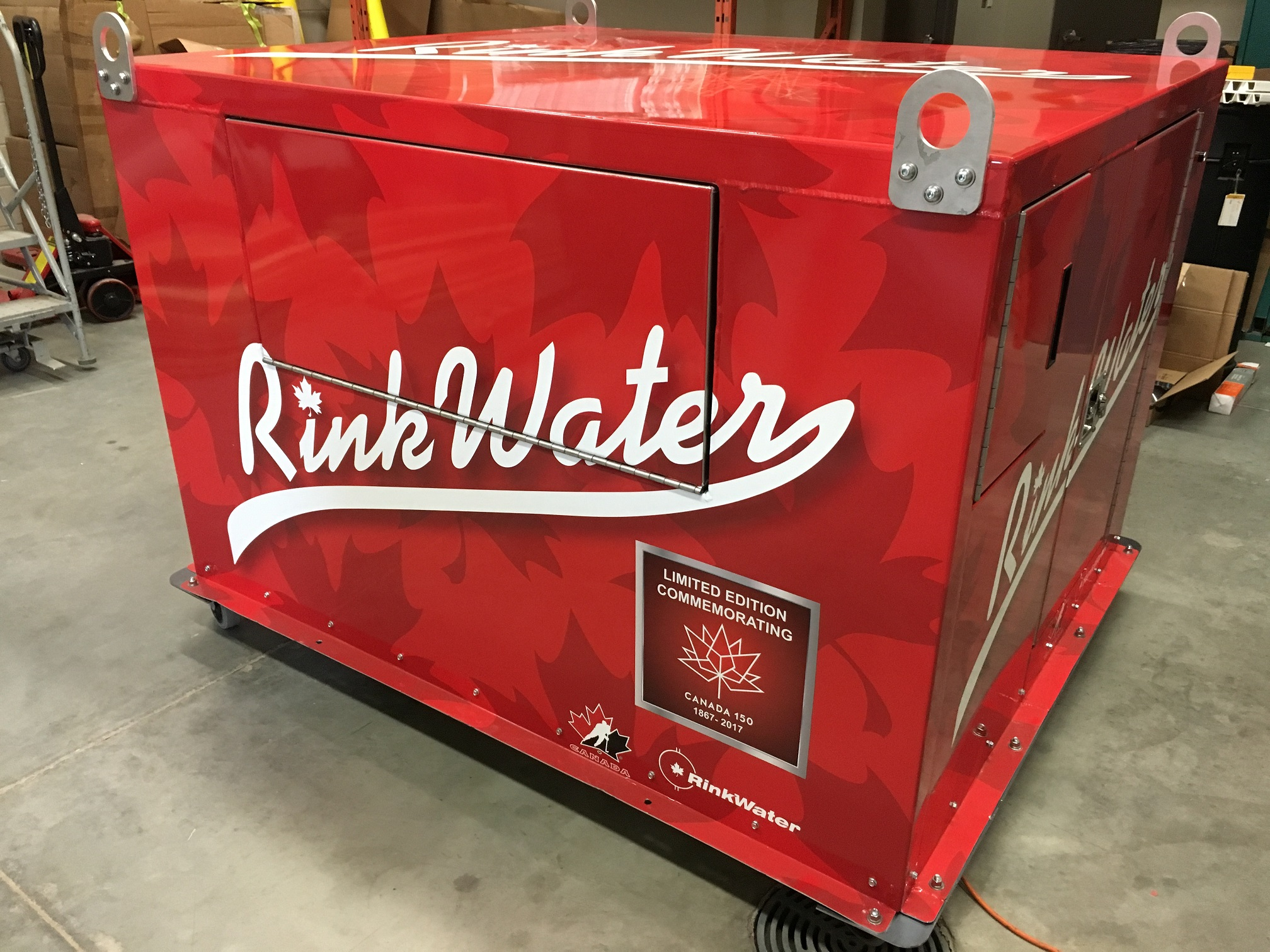 rinkwater hassle free outdoor rink building products